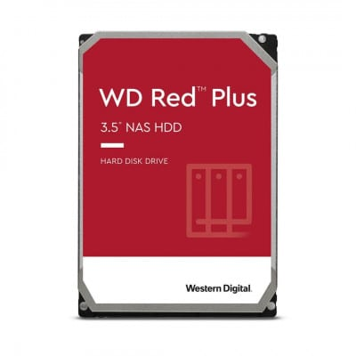 Western Digital WD Red Plus 3.5'' 12000 GB Serial ATA III