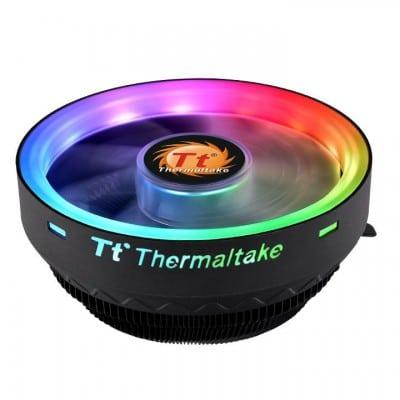 Thermaltake UX100 ARGB Lighting Processor Cooler 12 cm Black