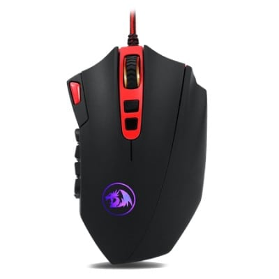 REDRAGON M901 Perdition mouse Right-hand USB Type-A Laser 24000 DPI