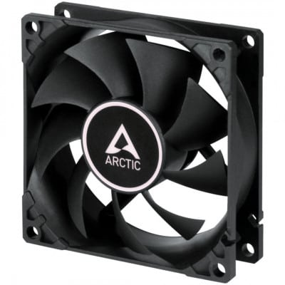Arctic F8 Silent Case Fan - 80mm case fan with low speed - Black Color