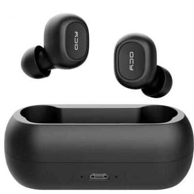 QCY T1C TWS True Wireless Earbuds 5.0 Bluetooth Headphones 4hrs 6mm 380mAh