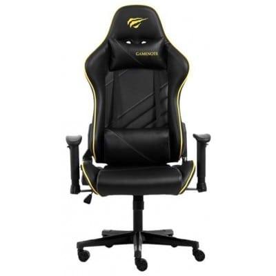 Gaming Καρέκλα - Gamenote GC930 Μαύρο/Κίτρινο