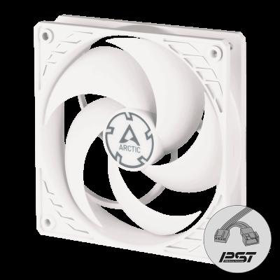 Arctic P14 PWM PST (white/white) - 140mm Pressure optimized case fan