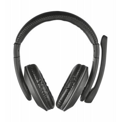 Trust 21662 ακουστικό κεφαλής & ακουστικό κεφαλής με μικρόφωνο Ακουστικά Head-band Βύσμα 3.5mm Μαύρο