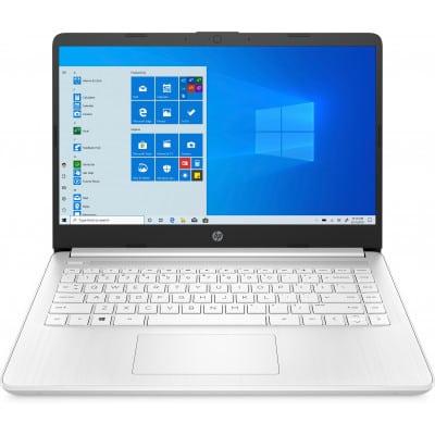 HP Pavilion Laptop 14s-fq0003nv DDR4-SDRAM Notebook 35,6 cm (14'') 1920 x 1080 pixels AMD 3000 4 GB 128 GB SSD Wi-Fi 5 (802.11ac) Windows 10 Home S Λευκό (Άσπρο)