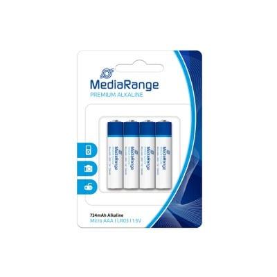 Αλκαλική Μπαταρία MediaRange Premium AAA 1.5V (LR3)